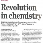 Revolution in chemistry